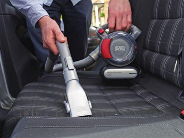 Black Decker Dustbuster Hand held Vacuum Cleaner Car Vac Bagless Hose Flexi Hose