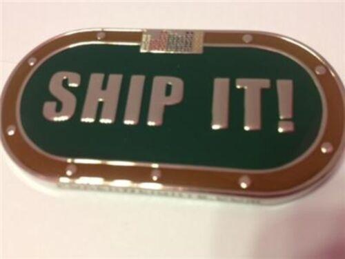 Ship It! Poker Card Guard Hand Protector Heavy NEW