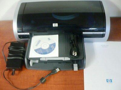 HP DeskJet 5650 Inkjet Printer-Adapter-USB-Full tray-CD--REFURBISHED Grade A !!!
