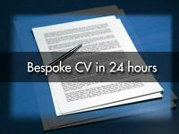 CV Writing from £20; Professional CV Writer - 420+ Great Reviews - FREE CV Check - LinkedIn - Help