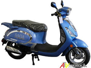 New SAGA Quest 49cc Gas Scooter/Moped on January SUPER SALE Now! Edmonton Edmonton Area image 13