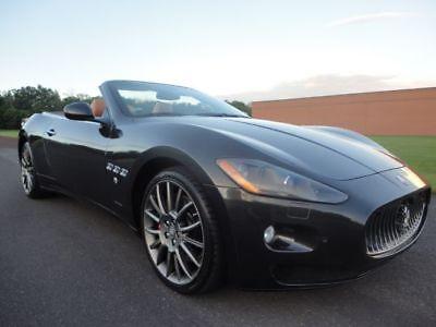 2012 Maserati Gran Turismo MASERATI GRAN TURISMO CONVERTIBLE 2012 MASERATI GRAN TURISMO CONVERTIBLE RWD AUTO 4.7L V8 CLEAN CARFAX WE FINANCE