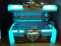 Sunbed shop for sale in Glasgow 4 beds 1 stand
