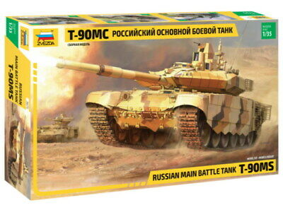Zvezda 3675 Panzer Battle Tank Russian main Model Bausatz 1:35