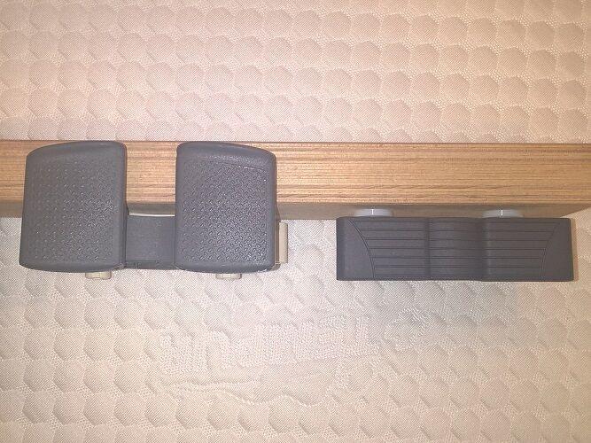 Portadoghe elastici Supporti Hitrel o Sbs ricambi per rete doghe ammortizzatori