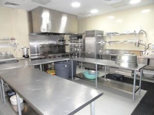 Commercial Kitchen Available For Rent