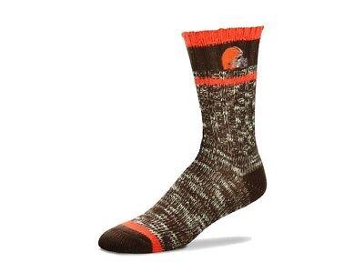 Crew Football Sweater - Cleveland Browns Football Alpine Crew Sweater Socks