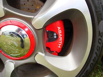 FIAT Abarth Brake Caliper Decals 500 Grande Punto Stilo Bravo Panda ALL OPTIONS, używany na sprzedaż  Wysyłka do Poland