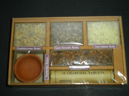 Auroshikha Resin Incense Starter Kit