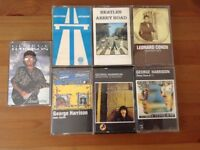 Collection music cassettes