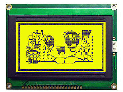 Jhd622yyg 128x64 Graphic Lcd Display Module Yellow Green Blacklight
