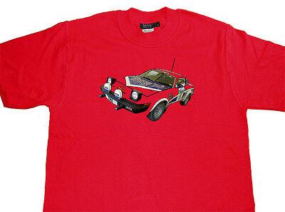 TRIUMPH TR7 V8 TR8 Rally WRC Car T Shirt T-shirt - Best Quality - ALL