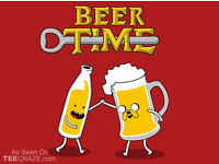 Beer Time! Your English, my Spanish and a pint of lager or whatever.
