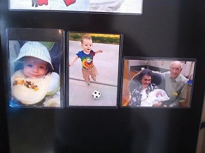 Lot of (20) Clear Magnetic 4x6 Picture, Photo Frames