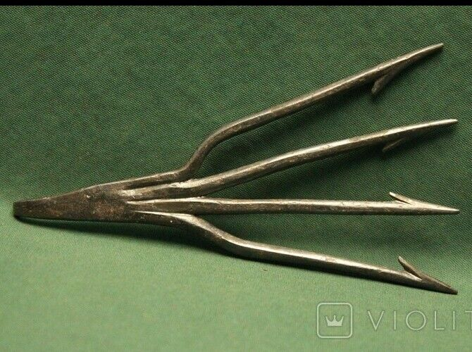 Ancient iron harpoon Kievan Rus Vikings 10-13 AD(Collection sale)