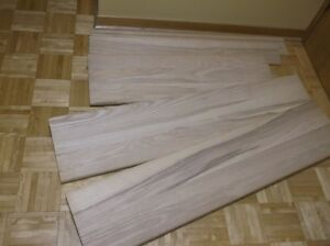 SOLID ASH STAIR TREADS & FLOOR NOSINGS - ONLY $70.00