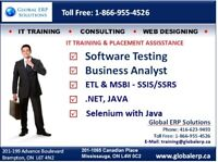 SOFTWARE TESTING QA TRAINING-MANUAL/AUTOMATION-QTP/SELENIUM