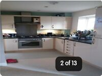 SWAP 2 bed new build flat/apratment own garden and drive to swap for a 3 bed