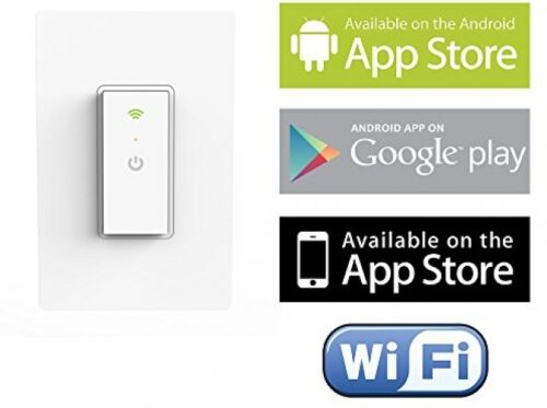 Ankuoo NEO Wi-Fi Light Switch with Home Automation App for iPhone and Android