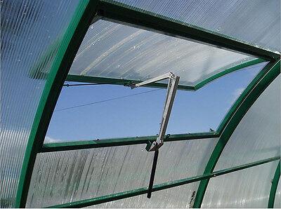 New Automatic Greenhouse Vent Window Opener Solar Auto Heat Sensitive Temp Close