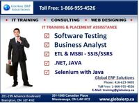 QA/Software Testing-Manual / Selenium Training & Placements