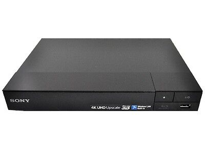 Sony BDP-S6500 3D 4K Blu-Ray Disc Player with Streaming Entertainment - Black