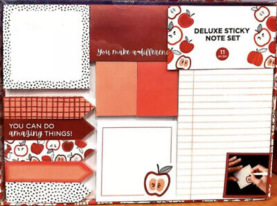 Deluxe Sticky Note Set - 11 Pieces