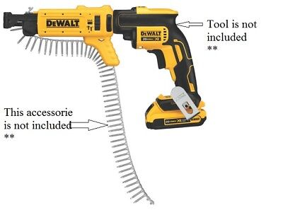 Dewalt Dcf6201 20v Max Drywall Screwgun Cordless Collated Magazine Attachment