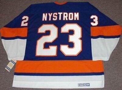 BOB NYSTROM New York Islanders 1973 CCM Vintage Throwback NHL Hockey Jersey