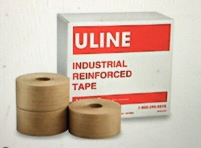 Uline Industrial Reinforced Kraft Tape - 3 X 375
