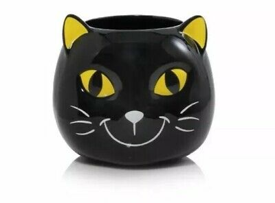 YANKEE CANDLE HALLOWEEN FRIENDS KOOKIE KITTY CANDY JAR/JAR CANDLE HOLDER 2019