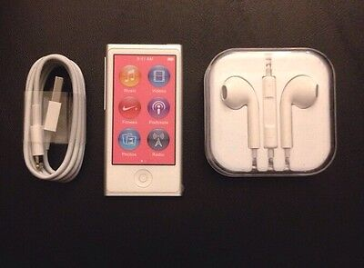 Brand New Apple iPod nano 7th Generation 16 GB Silver Bundle and Warranty!* on Rummage