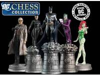 DC Chess Collection - 1st Set, 3 Specials, Superman, Board, All Mags and Binders
