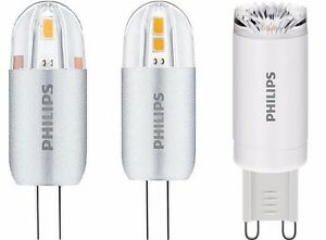 philips corepro led g4 g9 capsule 1 2w 2w 2 5w led. Black Bedroom Furniture Sets. Home Design Ideas