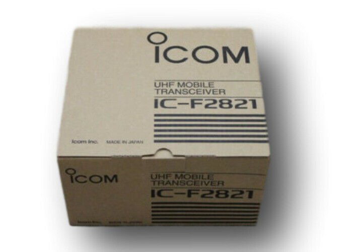 Icom IC-F2821 UHF 45 Watts Field Programmable 400-470 Mhz NEW