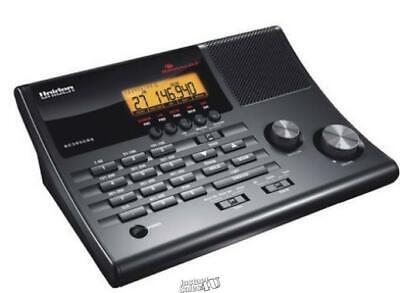Uniden-500 Channel Scanner 500 analog radio channels in 10 banks Black