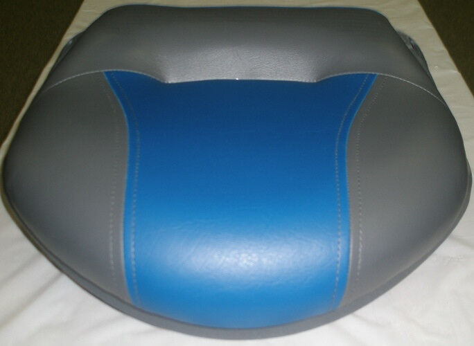 WISE BOAT SEAT PRO VERSION TOUR BUTT PEDESTAL CHARCOAL/ECLIPSE BLUE WD1278-037