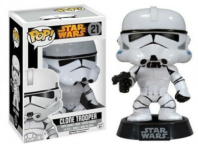 POP! Star Wars Clone Trooper Vinyl Bobble Head #21 [Vaulted Edition] Clone Trooper Bobble Head
