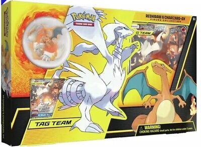 Pokemon TCGO - Reshiram & Charizard - GX Figure Collection Box