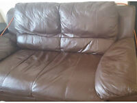 2 double leather seater