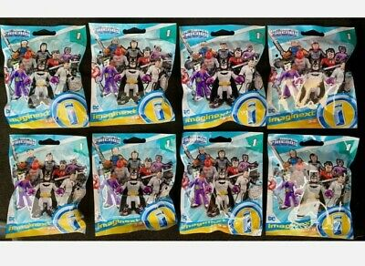 Imaginext DC Super Friends Series 1 Blind Bags x 8 *FULL SET* Red Hood NEW