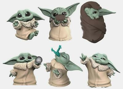 6 Star Wars The Mandalorian Bounty Collection Child Baby Yoda Figures Complete