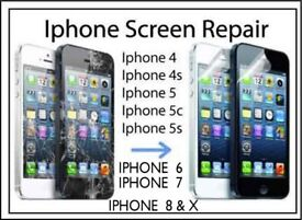 IPHONE SCREEN REPLACEMENT AND PHONE REPAIRS £30