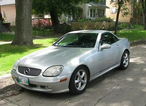 2001 Mercedes-Benz SLK-Class Convertible