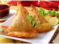 50 MOUTH WATERING SAMOSAS FOR £20 -PICKUP ONLY-