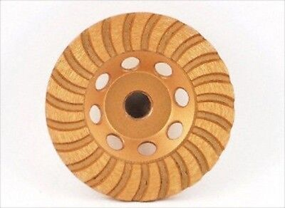 4 Diamond Cup Grinder Faced Wheel For Grinding Concrete Cement Stone Masonry