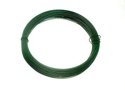 PLASTIC COATED GARDEN FENCING WIRE 1.4MM X -