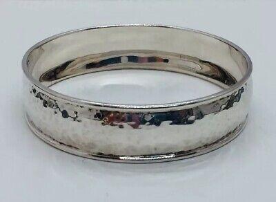Ippolita Sterling Silver Hammered Bangle Bracelet