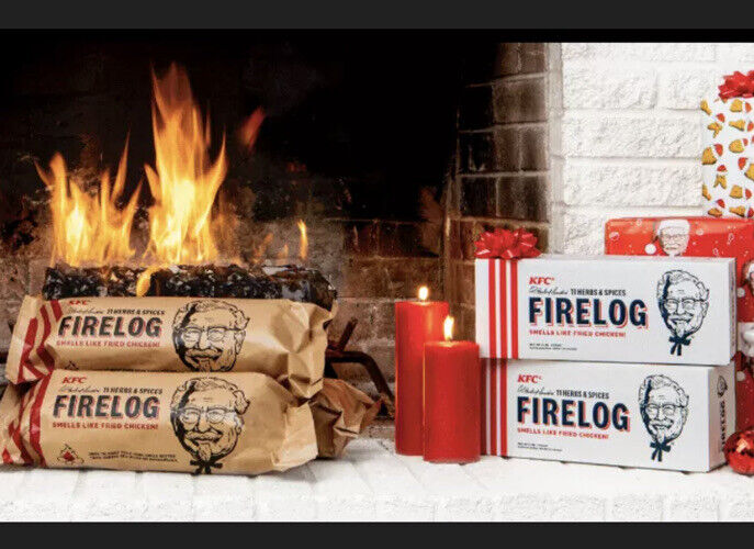 Set Of 6 - KFC Limited-Edition 11 Herbs & Spices Firelog by Enviro-Log - New