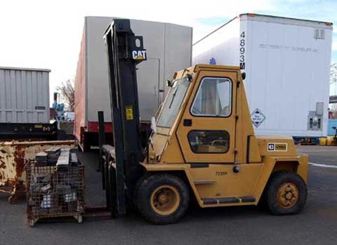 Caterpillar V150 15,000 Lb. Forklift Low Original Hours!!! (inv.25401)